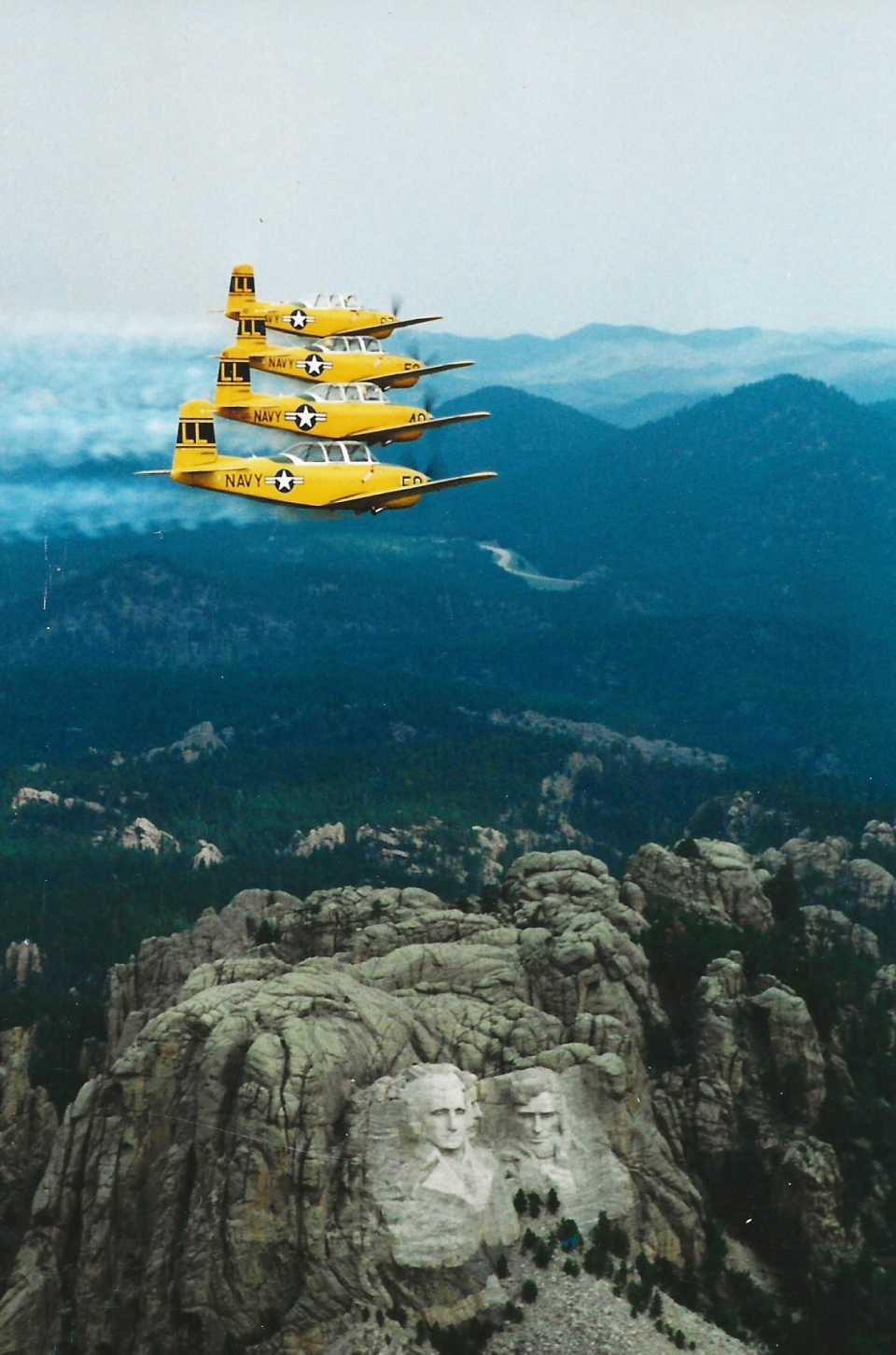 Four Ship at Mt. Rushmore
